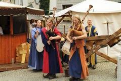 Duitsland, middeleeuws festival Stock Fotografie