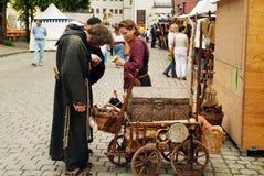 Duitsland, middeleeuws festival Royalty-vrije Stock Afbeeldingen
