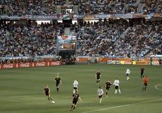 Duitsland tegenover Argentinië Stock Fotografie