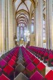 Duitsland, Thuringia, Muhlhausen, Mening van Kerk van Onze Dame Royalty-vrije Stock Afbeelding