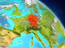 Duitsland van baan vector illustratie