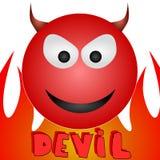 Duivel royalty-vrije illustratie
