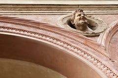 Duivel-als muurornament stock afbeelding