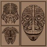 Duivel van de de geestgod van het gezichtsmasker de bos Royalty-vrije Stock Foto