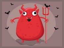 Duivelsbeeldverhaal Stock Foto