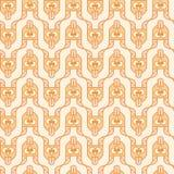 Duivelshoofden met uit het plakken van de tong Stock Afbeelding