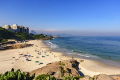 Duivelsstrand, Ipanema, Rio de Janeiro royalty-vrije stock afbeelding