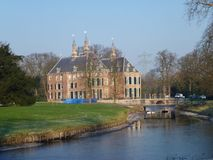 The Duivenvoorde castle Royalty Free Stock Images