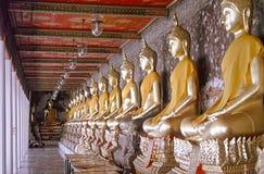 Duizend Buddhas, Bangkok Stock Foto's