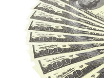 Duizend dollars Royalty-vrije Stock Foto