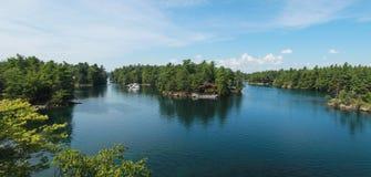 Duizend eilanden stock foto