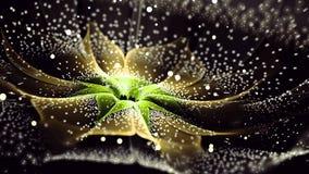 Duizend Fractal van de bloemblaadjebloem Art. royalty-vrije stock afbeelding