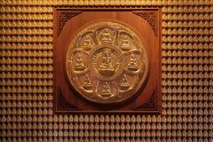 Duizend van het standbeeld van Boedha Stock Afbeelding