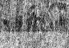 Duizenden doopvonten die met grungebackgro worden doorschoten vector illustratie