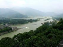 Dujiangyan и Lijiang стоковая фотография rf