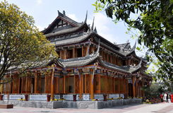 Free Dujiangyan, China: Classic Wooden Teahouse Stock Image - 19111211