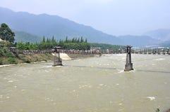 Dujiangyan Irrigation System Stock Photos