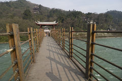 Dujiangyan Irrigation System Royalty Free Stock Photography