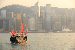 Duk Ling Ride, Hong Kong harbour Stock Images