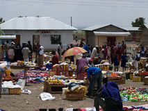 DUKA BOVA, TANZANIA, AFRICA, NOVEMBER 18: Shoppers Royalty Free Stock Photo