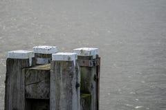 Dukdalf where ships moor royalty free stock photos