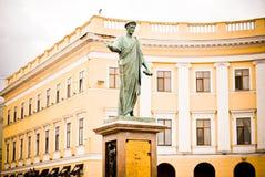 Duke памятника Одесса стоковое изображение