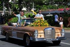 Duke aiona governor of hawaii Royalty Free Stock Photos