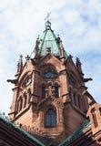Duke of Baden in Karlsruhe grave chapel stock photos