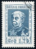 Duke of Caxias. BRAZIL - CIRCA 1953: stamp printed by Brazil, shows  Duke of Caxias, circa 1953 Stock Image