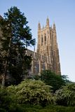 Duke Chapel. Duke University Chapel Building Side View Royalty Free Stock Image