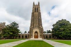 Duke Chapel bei Duke University stockbilder