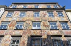 Duke court building in downtown on Herrengasse street. Graz, Austria Stock Image