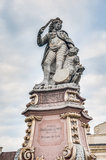 Duke Eberhard Ludwig в Ludwigsburg, Германия стоковые фото