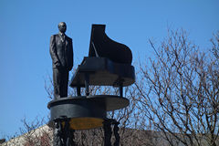 Duke Ellington Statue Royalty Free Stock Photo