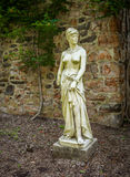 Duke Farms Statue 1. Classical statue in the old barn at Duke Farms in Hillsbourough NJ Stock Photography