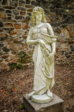 Duke Farms Statue 5. Classical statues in the old barn at Duke Farms in Hillsbourough NJ Stock Images
