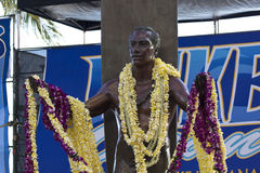 Duke kahanamoku at oceanfest Stock Photo