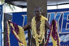Duke kahanamoku at oceanfest Stock Photo