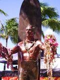 Duke Kahanamoku Statue Royalty Free Stock Photography