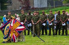Duke of Lancaster Regiment Ceremony Stock Images