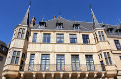 Duke Palace in Luxembourg Stock Image