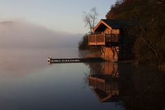 The Duke of Portland Boathouse stock image