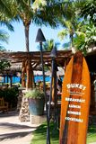 Duke's Beach House Lahaina Maui Stock Photo