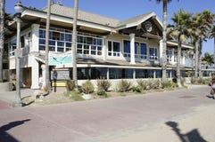 Duke's. A big restaurants located at the Huntington Beach called Duke's Stock Photography