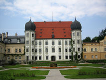 Duke's mansion. I met this manor in Bavarian village Stock Images