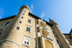 Dukes Palace of Urbino Stock Photos