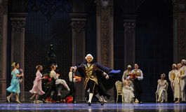 The Duke of Shug Tal Bam-The Ballet  Nutcracker Stock Photo