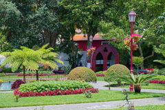 Duke of Terceira Garden, Angra, Terceira, Azores Stock Images