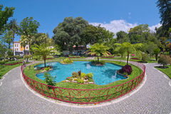 Duke of Terceira Garden, Angra, Terceira, Azores Stock Photos