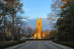 Duke University Photographie stock